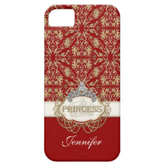 IPhone 5 Princess Jewel Bling Crown Personalized Case For The iPhone 5