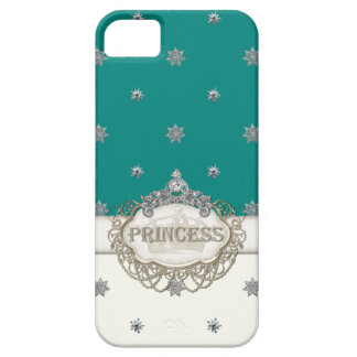 Iphone 5 Princess Jewel Bling Crown Personalized iPhone 5 Case