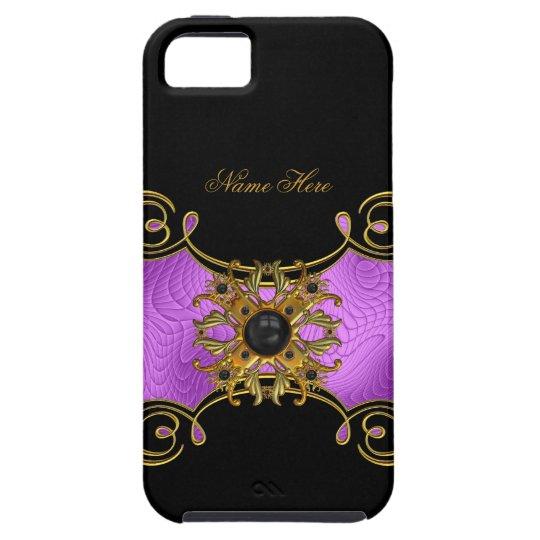 iPhone 5 Purple Pink Gold Black Elegant Classy iPhone 5 Case
