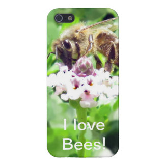 iPhone 5 Savvy - Honeybee on blossom iPhone 5 Cover