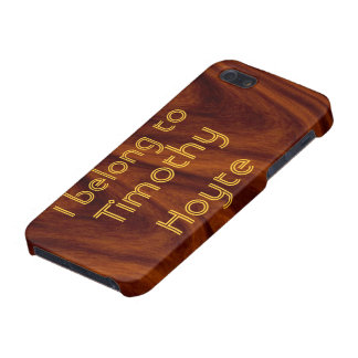 iPhone 5 Savvy - I belong to ... Cover For iPhone 5/5S