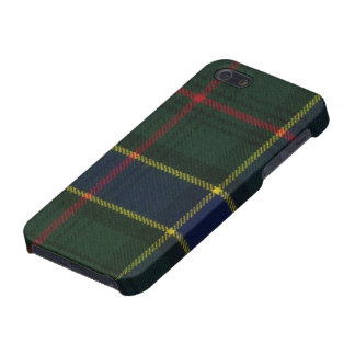 iPhone 5 Savvy Ogilvie Hunting Modern Tartan Print iPhone 5 Cover
