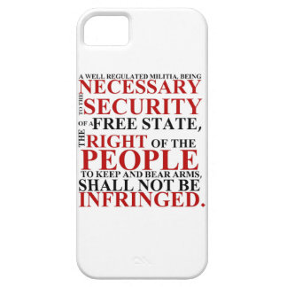 iPhone 5 Second Amendment Case iPhone 5 Cover