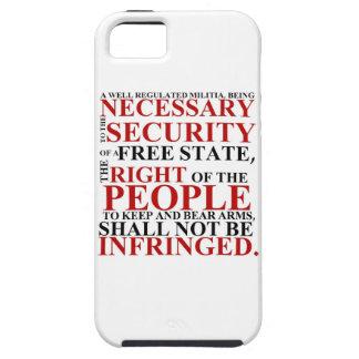 iPhone 5 Second Amendment Phone Case iPhone 5 Covers