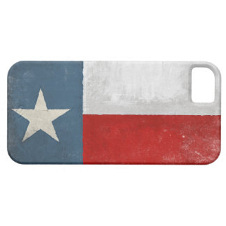 iPhone 5 Skin with Distressed Vintage Texas Flag iPhone 5 Case