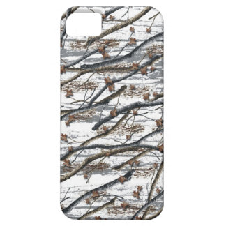 Iphone 5 snow camo case cover