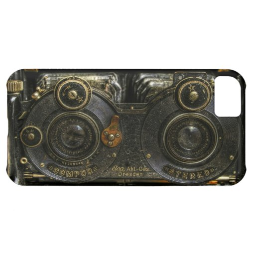 iPhone 5 Steam Punk Old School Camera Case Cell iPhone 5C Cases
