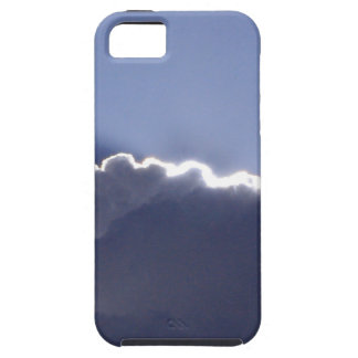 iPhone 5 toughcase with pic of silver lining cloud iPhone 5 Cover