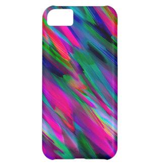 iPhone 5C Case Colorful digital art splashing