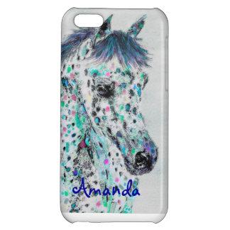 iphone 5C leoplard appalossa horse phone case iPhone 5C Cases