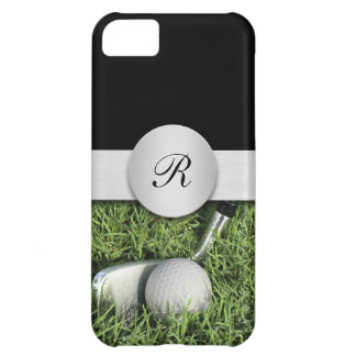 iPhone 5C Monogram Golf Cases