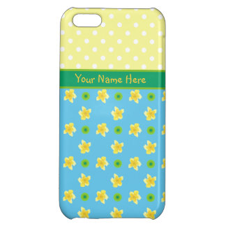 iPhone 5c Savvy Case to Personalize; Primroses