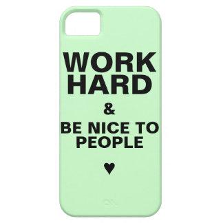 iPhone 5s Case Motivational: Green