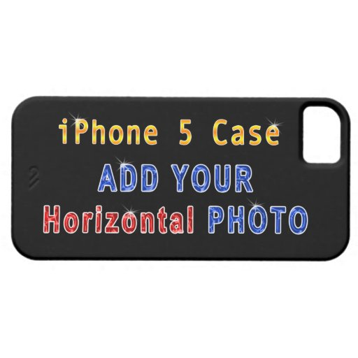 iPhone 5S Picture Cases (Horizontal Photo) iPhone 5/5S Cases