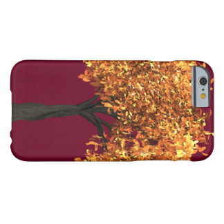 iPhone 6/6s, Barely There Phone Case Autumn Red