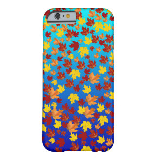iPhone 6/6s, Barely There Phone Case fall leaves