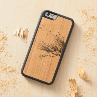 iPhone 6/6s Bumper Cherry Wood Case Basic