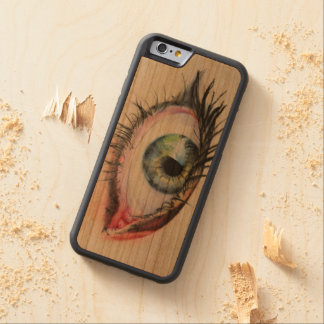 iPhone 6/6s Bumper Cherry Wood Case eye
