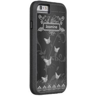 Iphone 6/6s Case Butterflies Chalkboard Vintage
