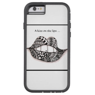 Iphone 6/ 6s Case Doodle A Kiss on the Lips ...