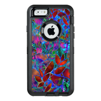 iPhone 6/6s Case Floral Abstract Stained Glass