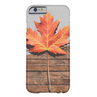 "iPhone 6/6S Case ""Leaf and Wood"" Heevs™"