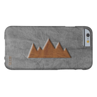 """iPhone 6/6S Case """"Leather Mountain"""" Heevs™"""
