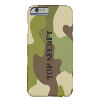 iPhone 6/6s Case top secret camouflage military