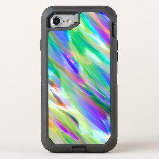 iPhone 6/6s Colorful digital art splashing OtterBox Defender iPhone 7 Case