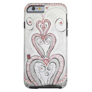 iPhone 6/6s Contoured Case w/Original Art Tough iPhone 6 Case