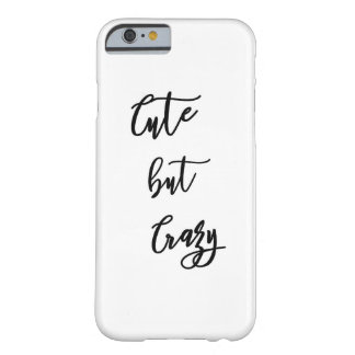"IPhone 6/6s Cover ""Cute drank crazy """