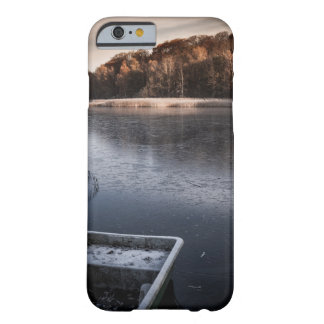 iPhone 6/6s covering - motive boat/lake/winter Barely There iPhone 6 Case