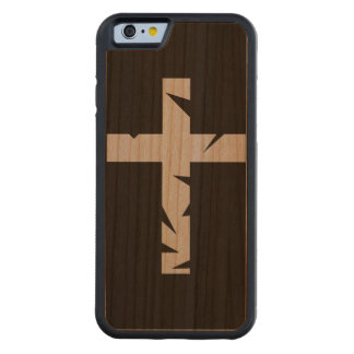 iPhone 6/6S Cross Wood Cover