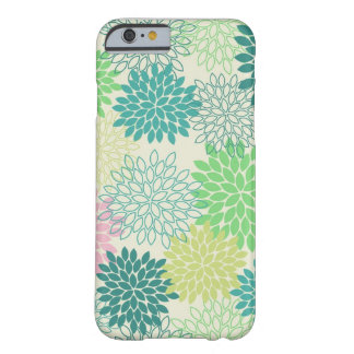 iPhone 6/6S -- Green Mums, Barely There Case