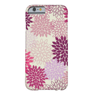 iPhone 6/6S -- Groovy Grape Mums Barely There iPhone 6 Case