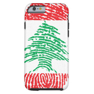 Iphone 6/6s Lebanese Flag Tough iPhone 6 Case
