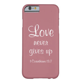 Iphone 6/6s, Love never gives up case