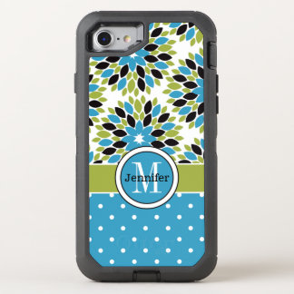 iPhone 6/6s | Monogram, Floral, Polka Dots OtterBox Defender iPhone 7 Case