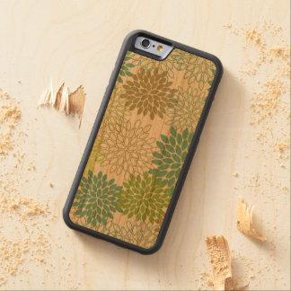 iPhone 6/6S -- Mums II, Wooden Case