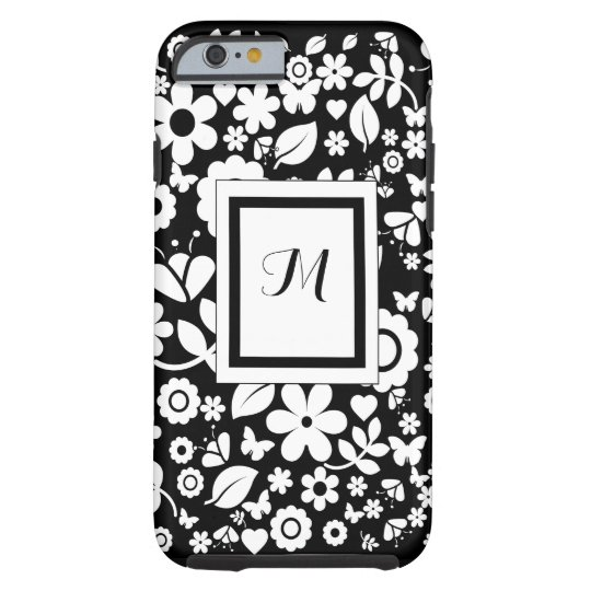 iPhone 6/6s Personalised Monogram Tough Case