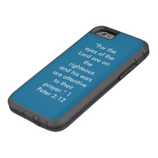 IPhone 6/6S Tough Ext Scripture Cell Phone Case Tough Xtreme iPhone 6 Case