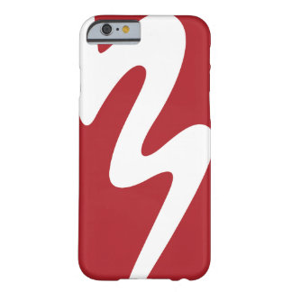 iPhone 6/6s White & Red BMB Logo Phone Case