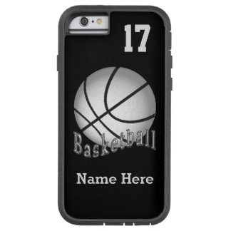 iPhone 6 Basketball Cases NAME, NUMBER and COLORS Tough Xtreme iPhone 6 Case