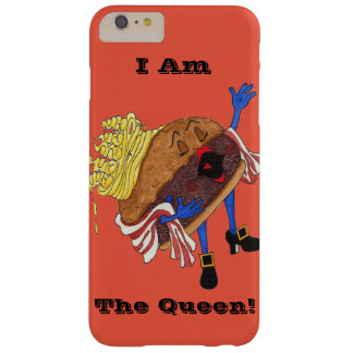 """iPhone 6 """"Burger Bernice, Queen!"""" Case. Barely There iPhone 6 Plus Case"""