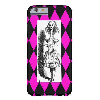 Iphone 6 case Alice Wonderland Harlequin Barely There iPhone 6 Case