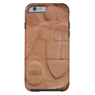 iPhone 6 Case, Angel in the Rocks, Personalized Tough iPhone 6 Case