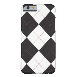 iPhone 6 case - Argyle Squares - Vintage RedStitch Barely There iPhone 6 Case