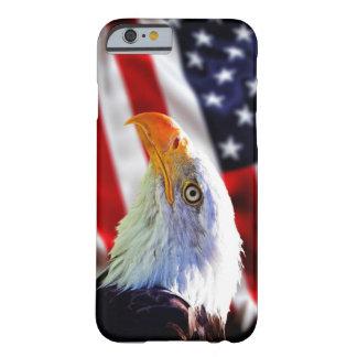 Iphone 6 case - Bald eagle on american flag