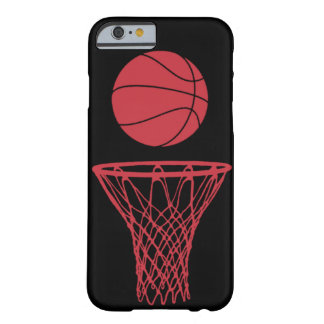 iPhone 6 case Basketball Silhouette Bulls Black