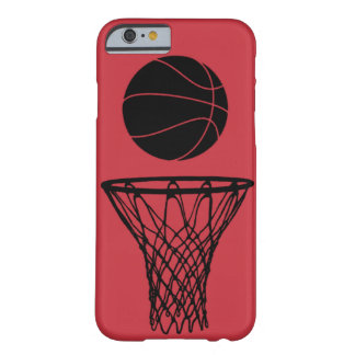 iPhone 6 case Basketball Silhouette Bulls Red